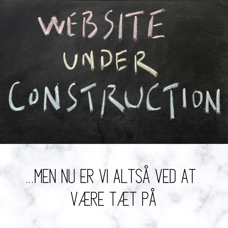 Bloggen er under ombygning.